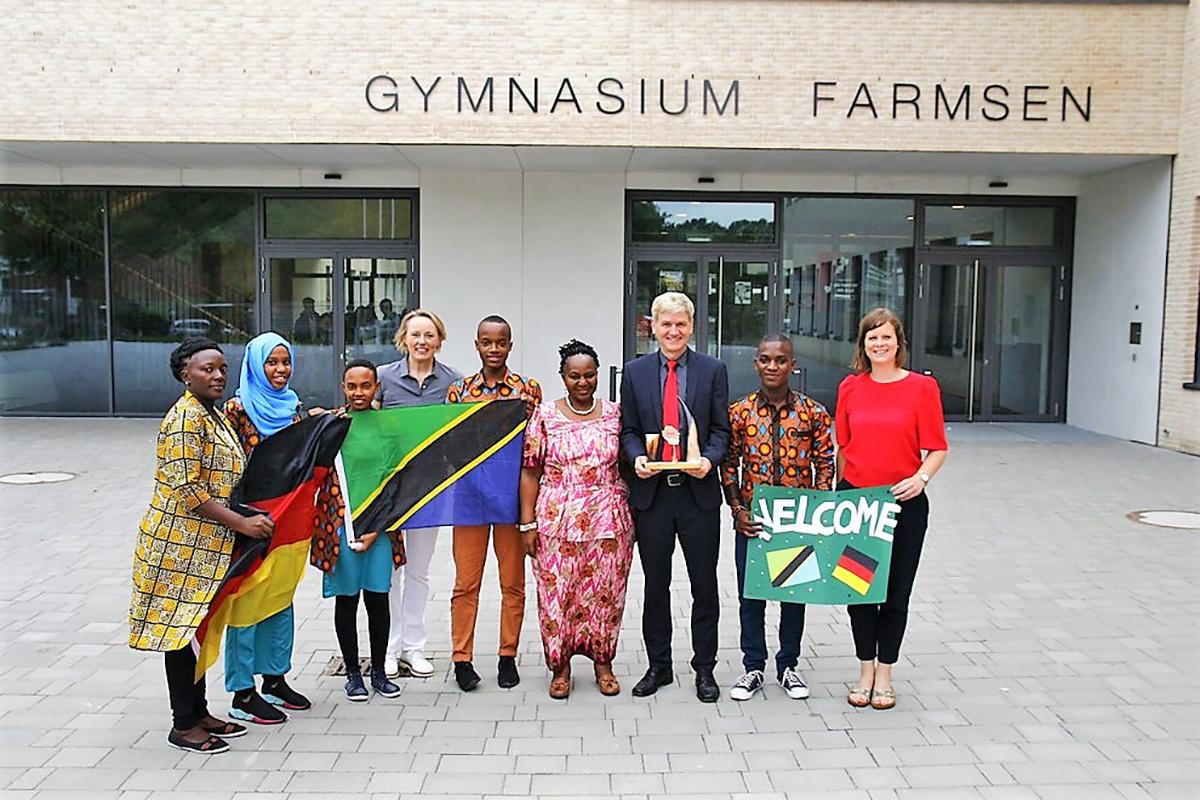 Besuch aus Tansania 2018