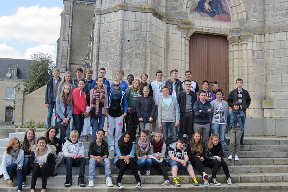 Besuch in Frankreich 2013