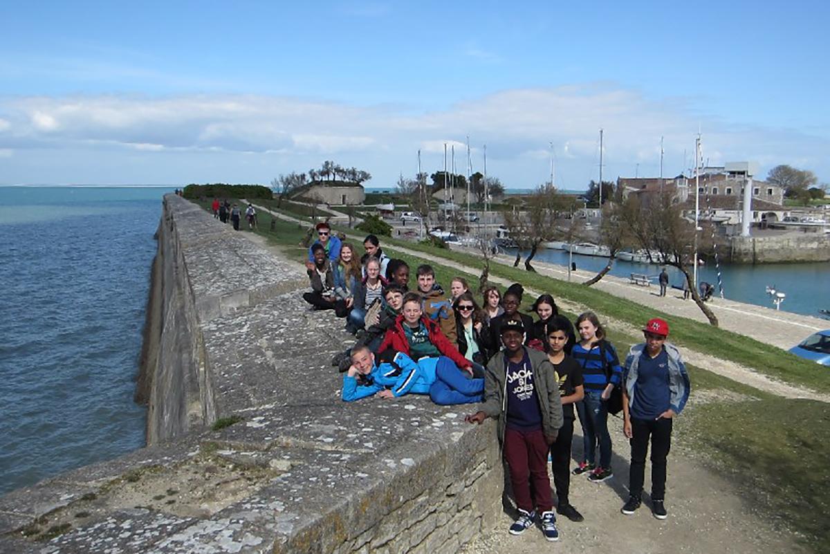 Besuch in Frankreich 2014