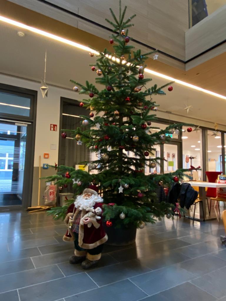 Weihnachtsstimmung am GyFa