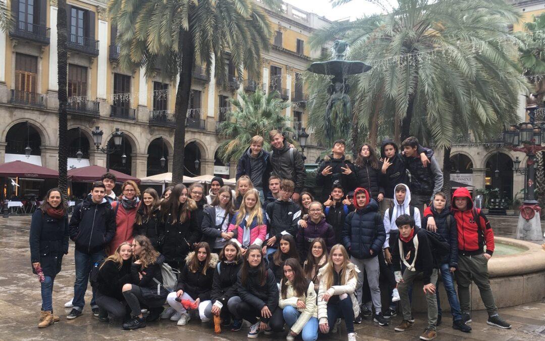 Spanienaustausch nach Bescanó